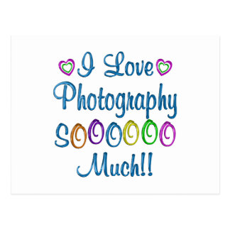 Photography Love So Much Postcard