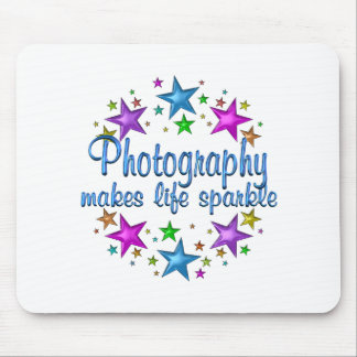 Photography Makes Life Sparkle Mouse Pad