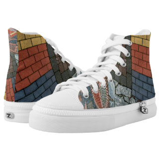 Photography - MIXED STONE WALL + your ideas High-Top Sneakers