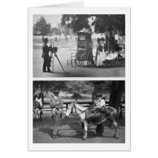 Photography on the Common and Waiting for Hire, 18 Card