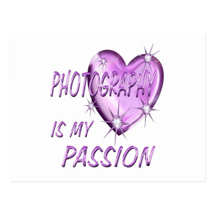 PHOTOGRAPHY PASSION POSTCARD