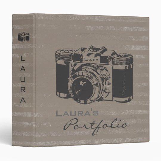 Photography Photo Portfolio Personalized Binder