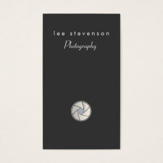Photography Photographer Business Card