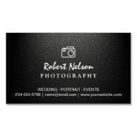 Photography business cards templates zazzle large business cards photography photographer camera simple matte black colourmoves