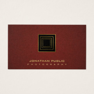 Photography Photographer Modern Stylish Pearl Luxe Business Card