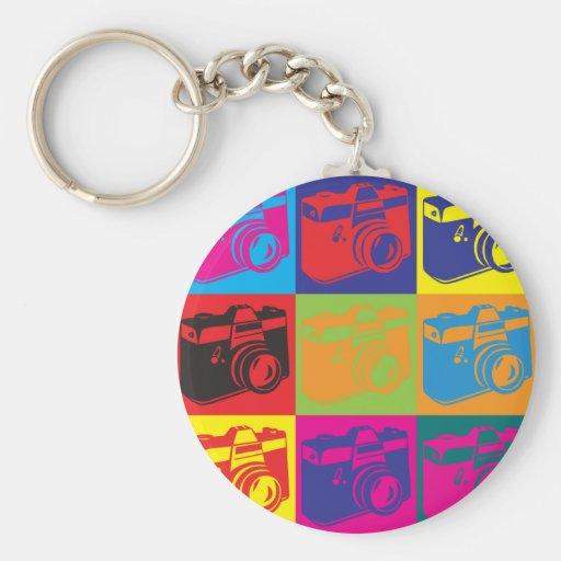 Photography Pop Art Keychain