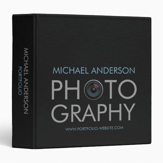 Photography Portfolio Binder