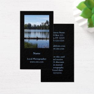 Portrait business cards templates zazzle photography portrait vertical black business card colourmoves