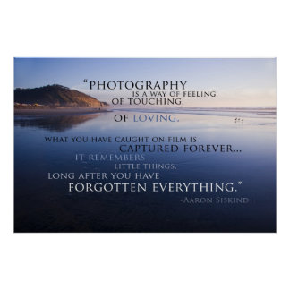 Photography Quote 1 Poster