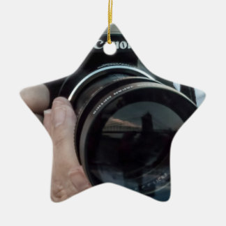 Photography Reflections. Ceramic Ornament