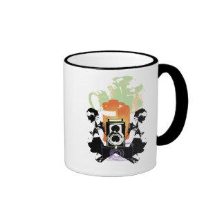 Photography Ringer Coffee Mug