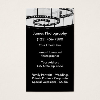 Photography Services Business Card