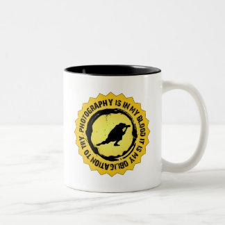 Photography Shield Coffee Mug