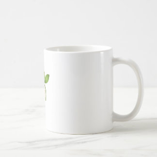 Photography shutter with green leaves coffee mug