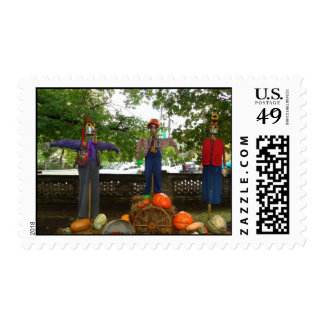 Photography stamps fall scenes
