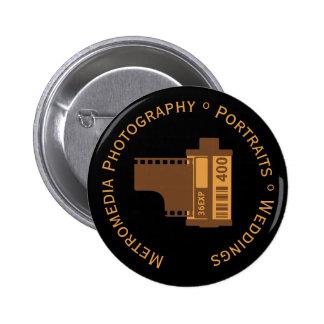Photography Studio 35mm Film Customized Pin