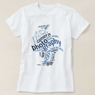 Photography Terms Word Twist T Shirt
