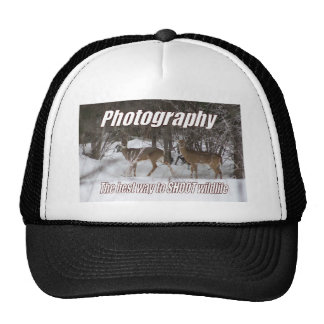Photography, The best way to SHOOT wildlife Trucker Hat