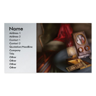 Photography - The Stereo Opticon Business Card Templates