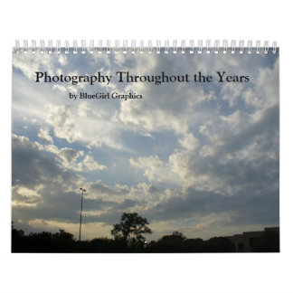 Photography Throughout the Years Calendar