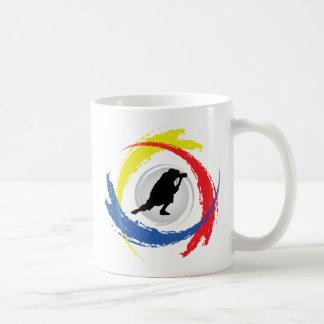 Photography Tricolor Emblem Coffee Mug