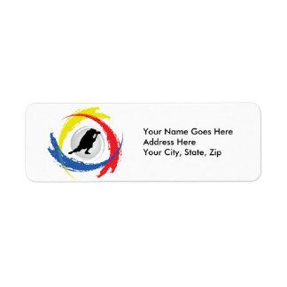 Photography Tricolor Emblem Label