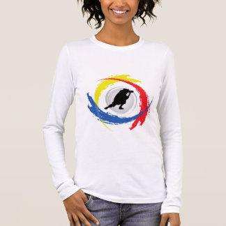 Photography Tricolor Emblem Long Sleeve T-Shirt
