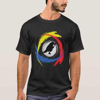 Photography Tricolor Emblem T-Shirt