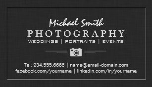 Portrait business cards templates zazzle photography wedding portrait elegant embossed look magnetic business card colourmoves