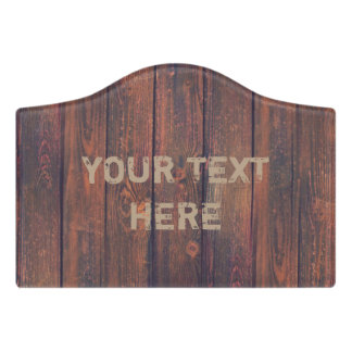 Photography - WOOD BOARDS + your ideas Door Sign