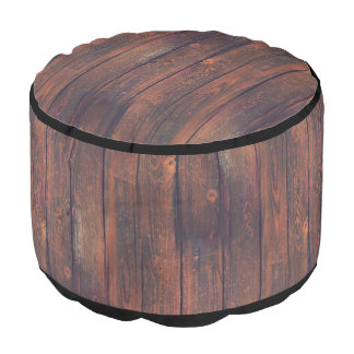 Photography - WOOD BOARDS + your ideas Round Pouf