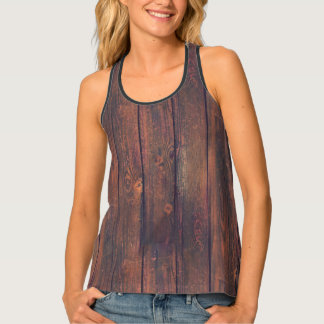 Photography - WOOD BOARDS + your ideas Tank Top