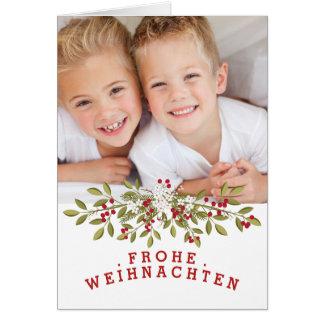 Photokarte aquel felices navidades tarjeta de felicitación