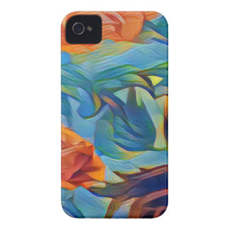 PhotoLab_app_Crayon_Strokes_Abstract (1) iPhone 4 Case-Mate Case
