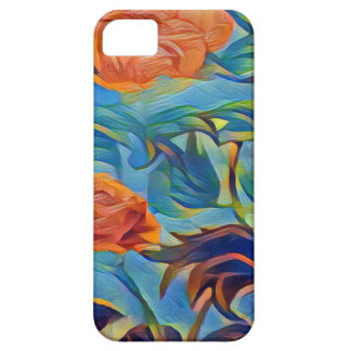 PhotoLab_app_Crayon_Strokes_Abstract (1) iPhone SE/5/5s Case