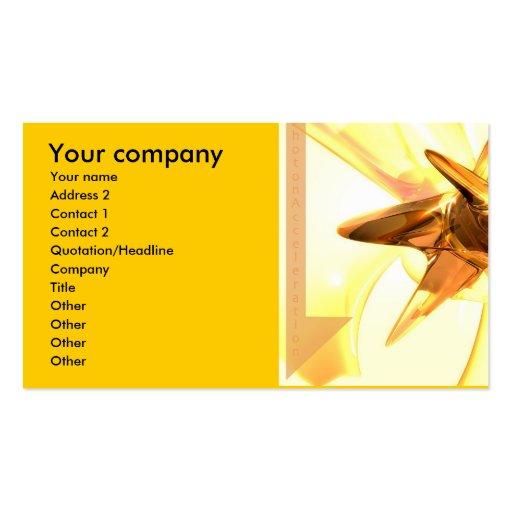 Photon accelerator business card