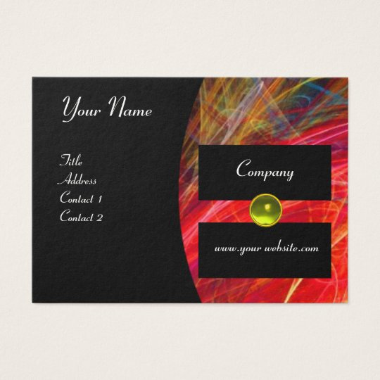 PHOTON monogram gem Business Card