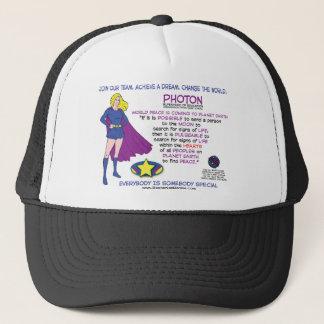 PHOTON SUPERHERO OF EDUCATION TRUCKER HAT