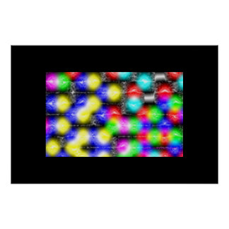 Photons inter penetrating poster
