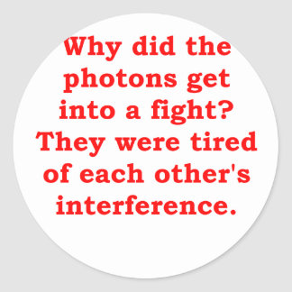 photons.png classic round sticker