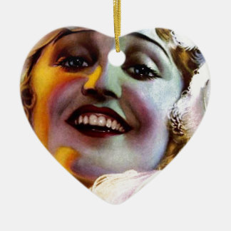 PHOTOPLAY AGNES AYERS OCT 1921 CERAMIC ORNAMENT