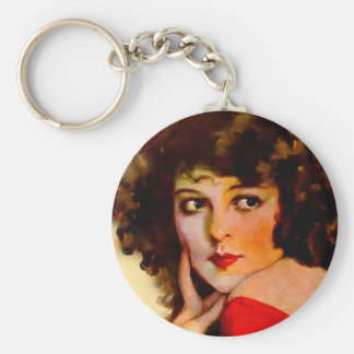 PHOTOPLAY COLLEEN MOORE NOVEMBER 1922.jpg Basic Round Button Keychain