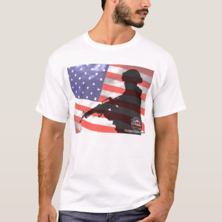 Photos and renditions of US Troops T-Shirt