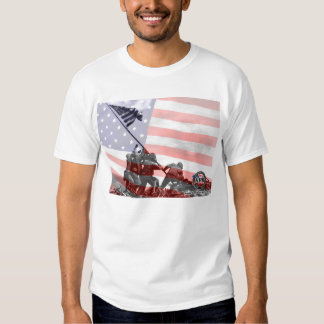 Photos and renditions of US Troops Tshirt