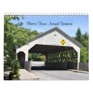 Photos From Around Vermont - 2016 Calendar