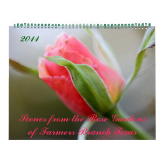 Photos from Rose Gardens of Farmers Branch Texas Calendar