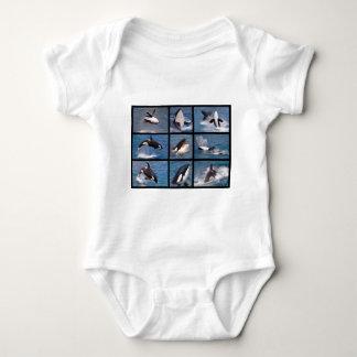 Photos mosaic of killer whales t shirt