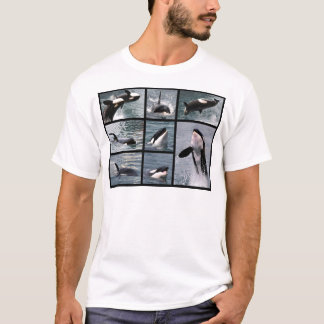 Photos multiple of killer whales T-Shirt