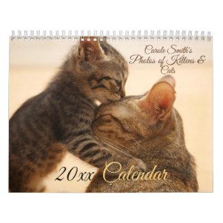 Photos of Cats & Kittens 20XX Calendar