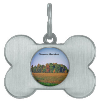 Photos of different areas of the United States Pet Name Tag